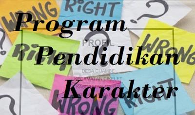 Laporan program Pendidikan Karakter