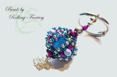 Schlüsselanhänger Treasure Trove Beaded Bead