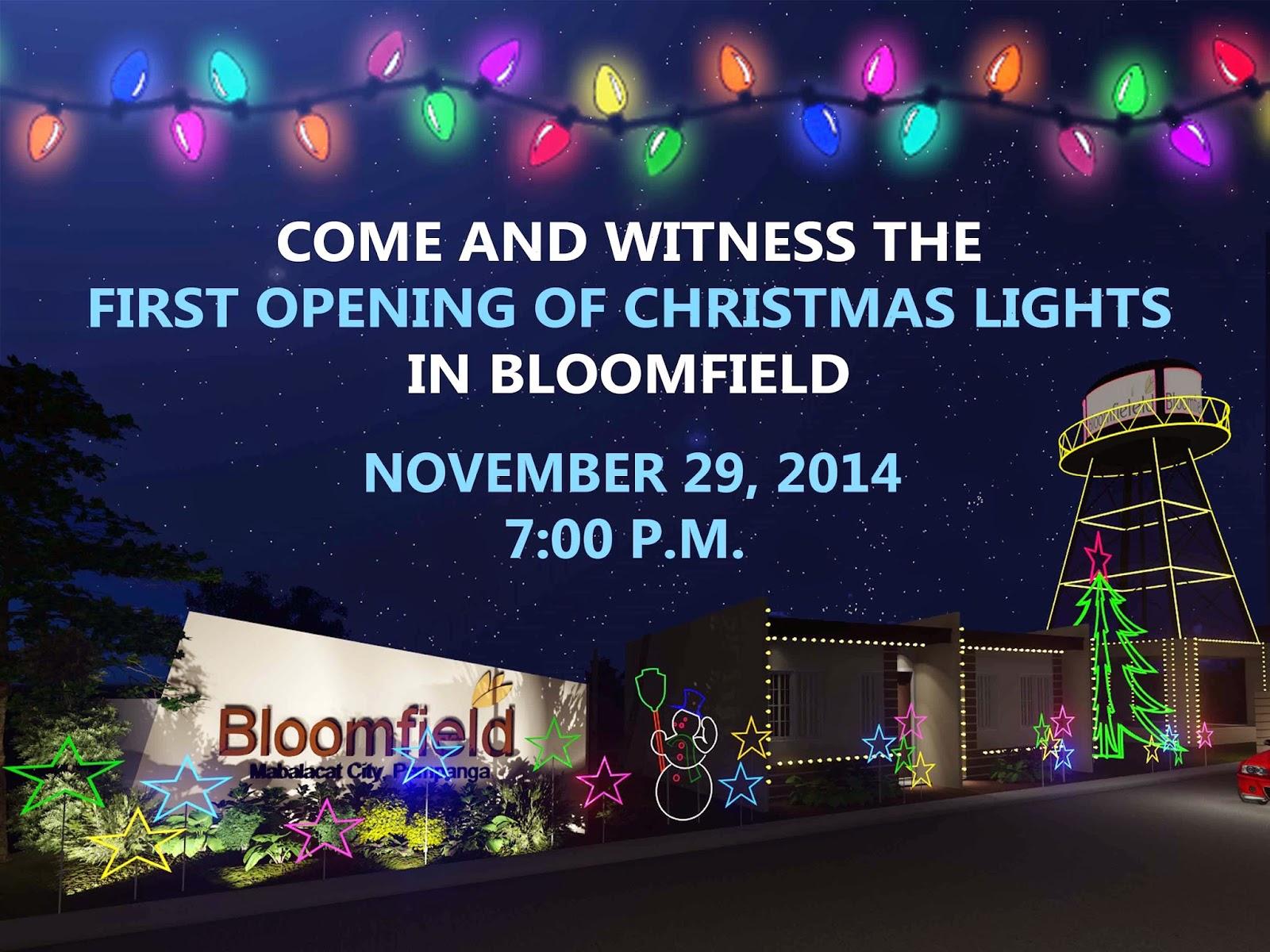 Christmas Lights In Pampanga.Bloomfield Mabalacat Blog Affordable Housing Pampanga