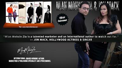 Jon Marie Mack, Hollywood Actress & Singer Endorses Mian Mohsin Zia