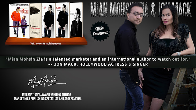 Jon Marie Mack, Hollywood Actress & Singer Endorses Mian Mohsin Zia