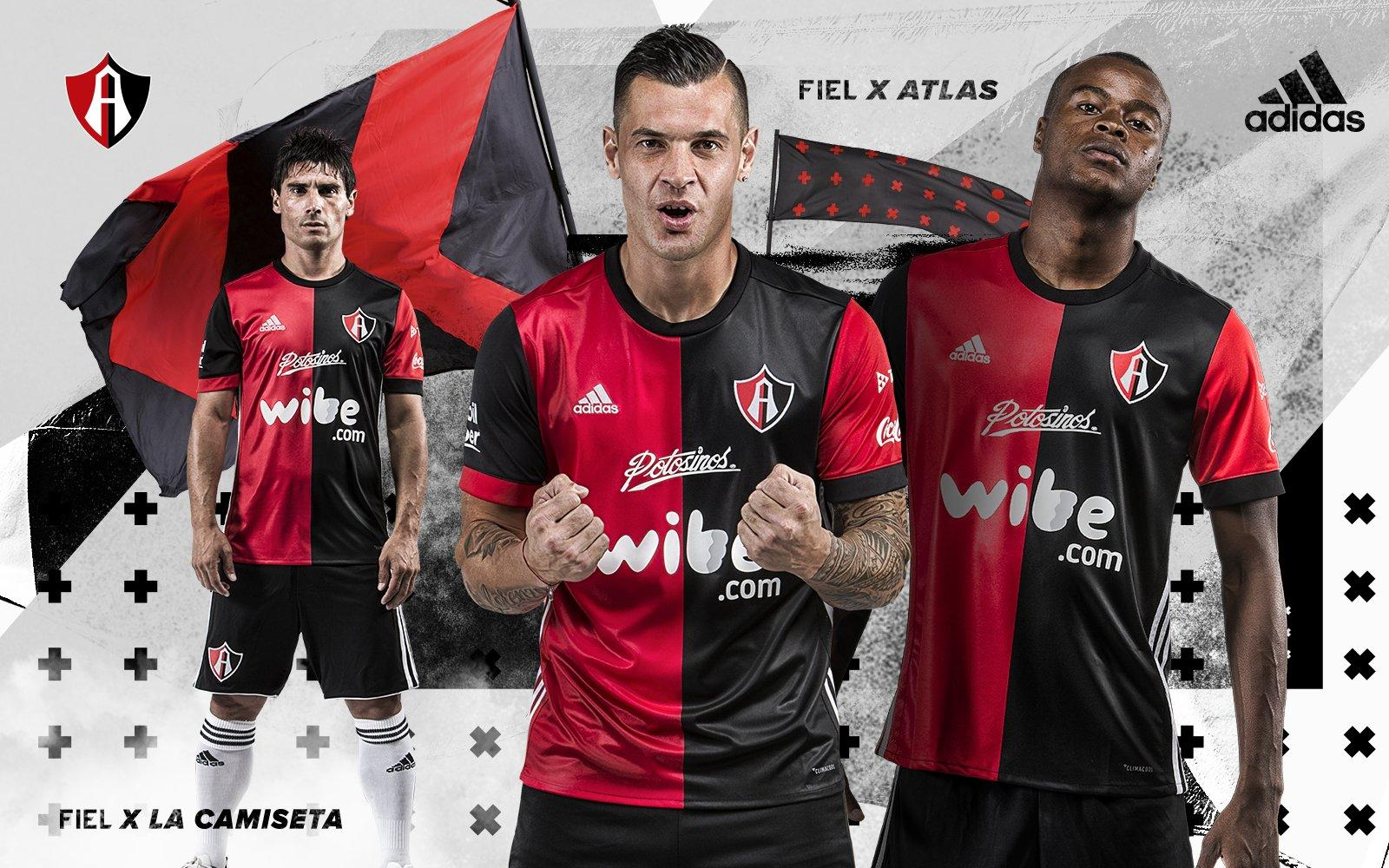 This is the new Adidas Atlas FC 2017-2018 home shirt.