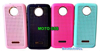 Protector brillos dorados Moto G5s