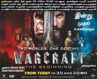 Download Warcraft 2016 Tamil Dubbed Movie 300mb