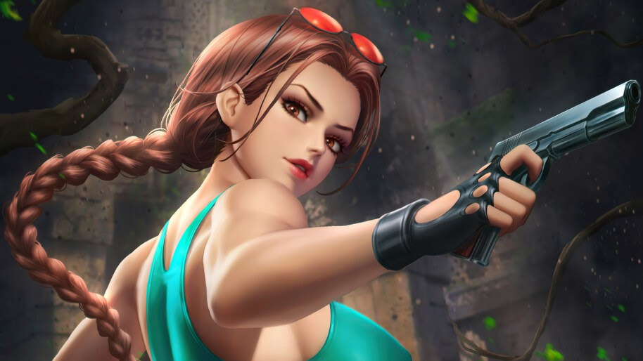 Lara Croft, Tomb, Raider, Game, Girl, 4K, #6.1613