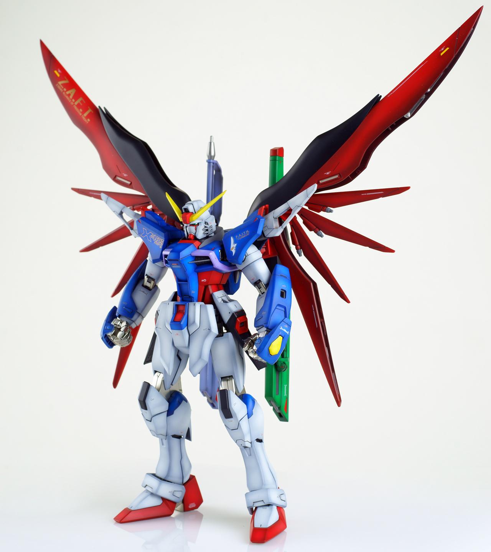 GUNDAM GUY: MG 1/100 Destiny Gundam