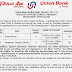 Union Bank Specialist Officers Recruitment Notification PDF