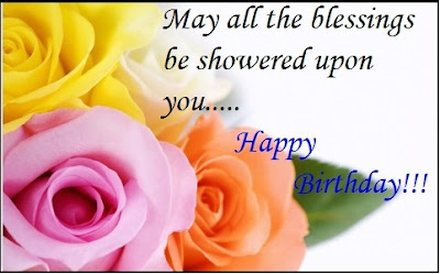 Birthday Wish with Blessings