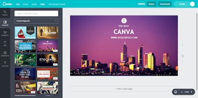 CANVA Website Desain Online Mudah dan Cepat