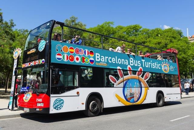 Passeio de ônibus turístico em Barcelona