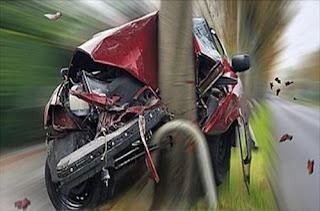 Cinco dos seus amigos poderão sofrer um acidente de trânsito no próximo ano