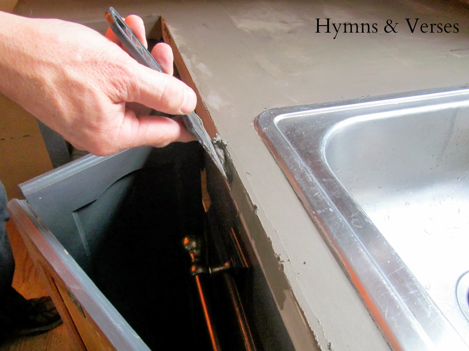 Concrete Countertop Edge Molds Hymns And Verses Diy Concrete Countertops Over Existing
