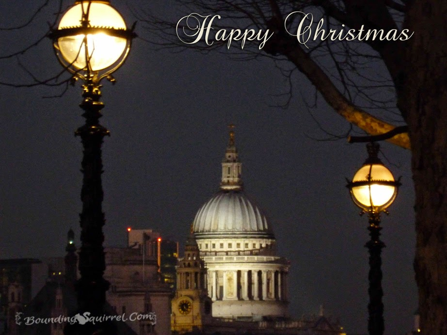 Sophisticated Happy Christmas Free Ecard from London, UK
