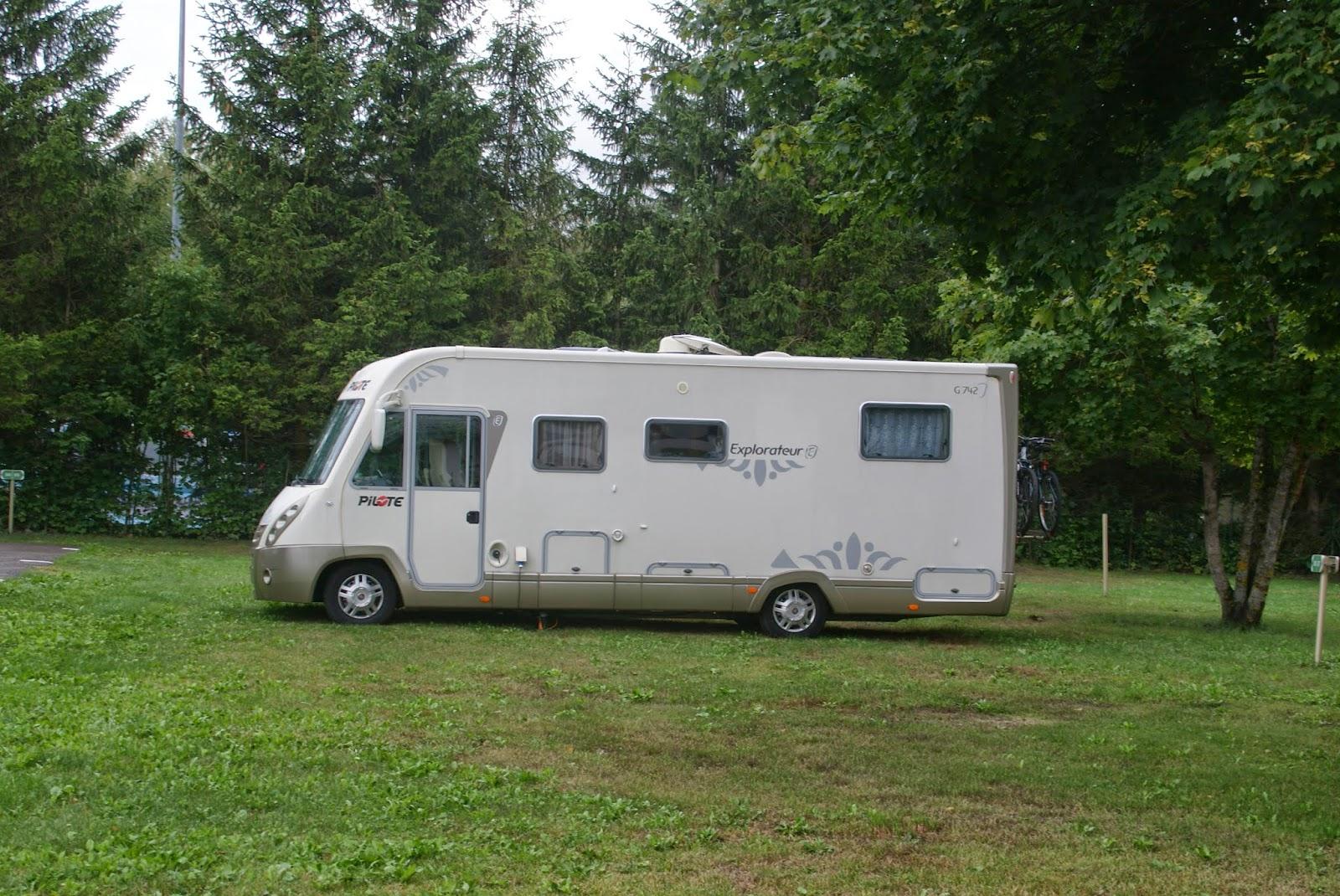 Camping Car En Tarentaise