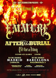 http://www.resurrectionfest.es/route/torch-the-earth/