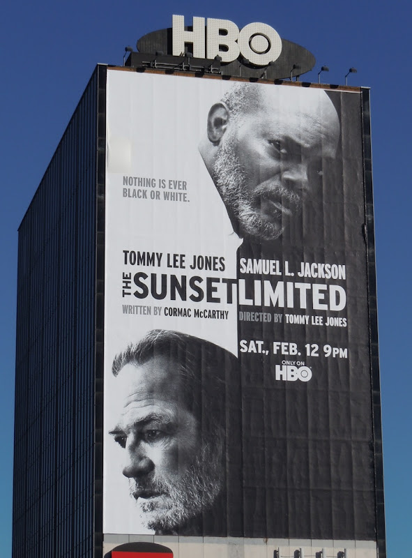 The Sunset Limited HBO film billboard