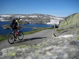 Syklist Rallarveg