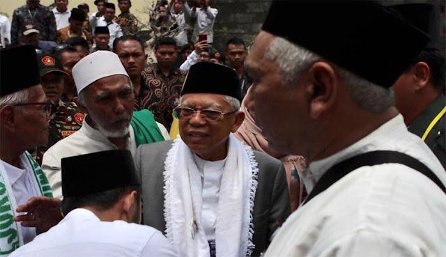Warga NU Dukung KH Ma'ruf Amin, Habib Hasan: Kita Harus Jaga Marwah Kiai