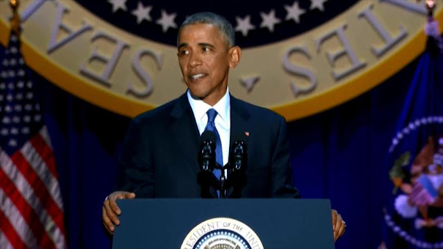 Barack Obama se despide de Casa Blanca con promesas incumplidas