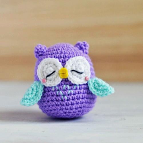 Owl Amigurumi - Free Pattern