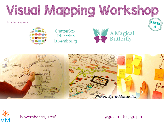 New Visual Mapping Workshop in Luxembourg