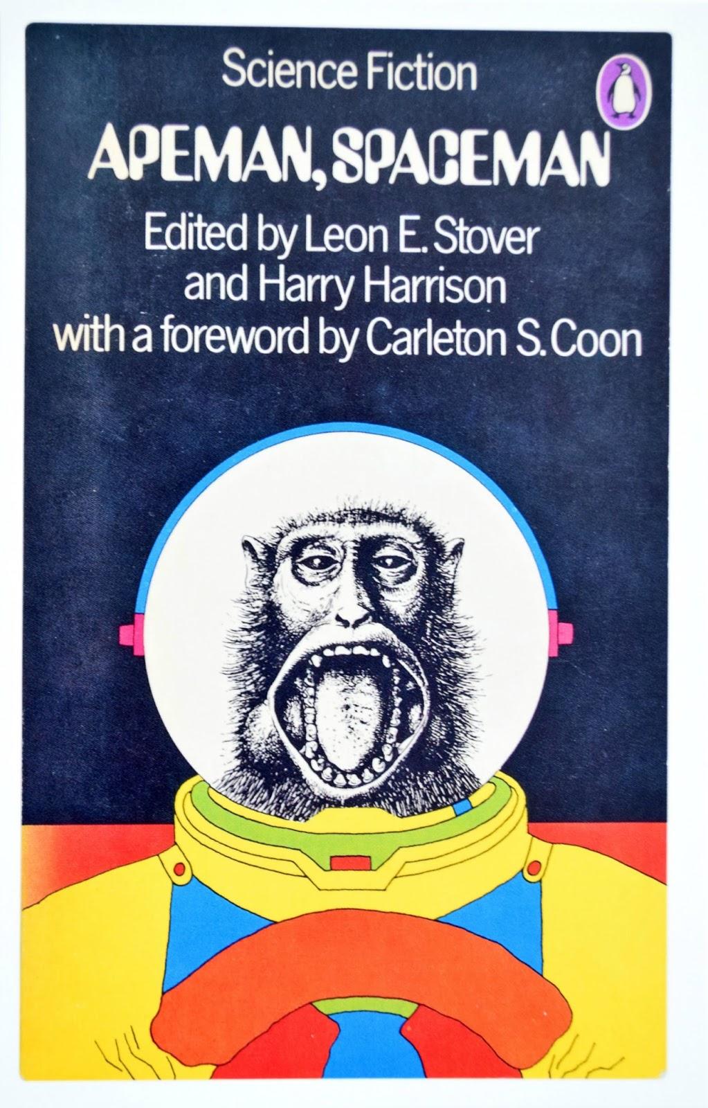 ilustracja sience fiction na pocztówce
