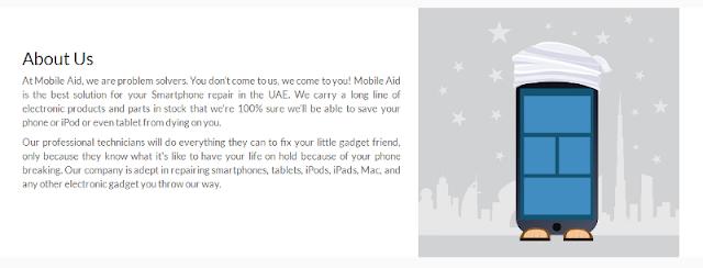 trusted mobile device repair service provider in Dubai