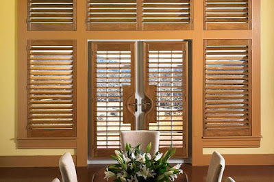 Plantation of interior blinds