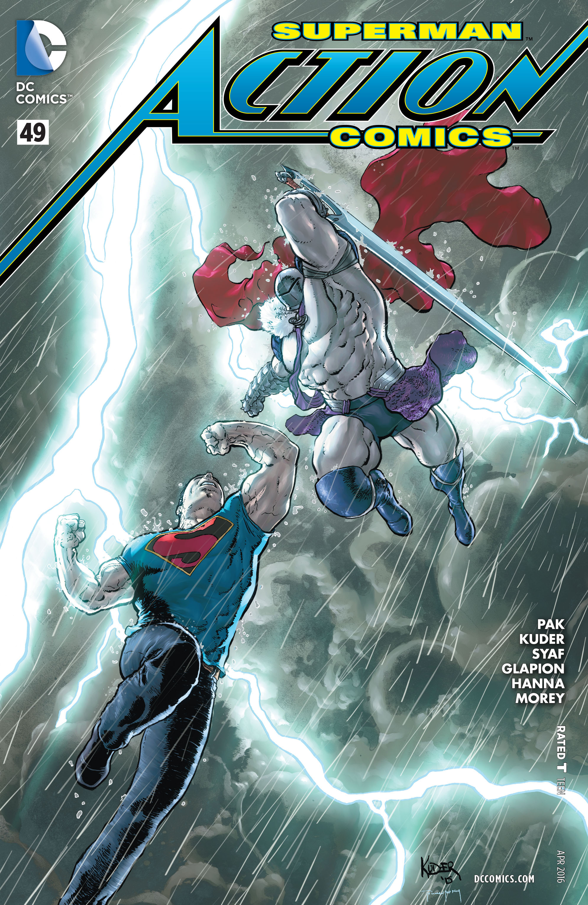 Read online Action Comics (2011) comic -  Issue #49 - 1