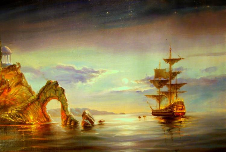 Pintura do Mar