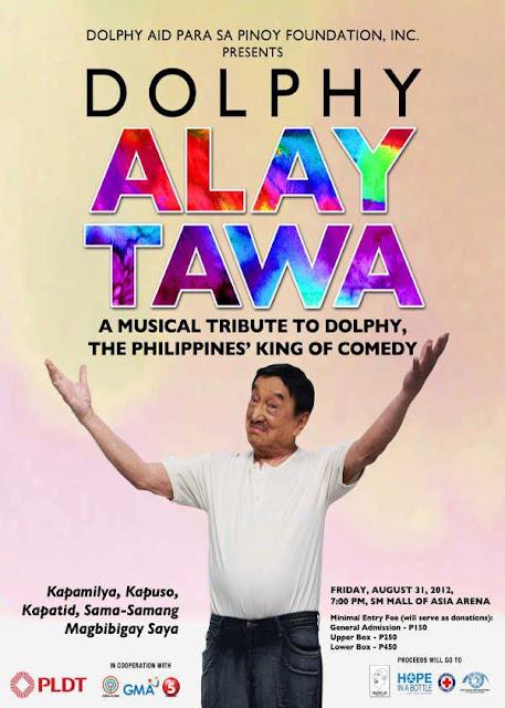 Dolphy, Dolphy Alay Tawa, ABS-CBN, GMA, TV5
