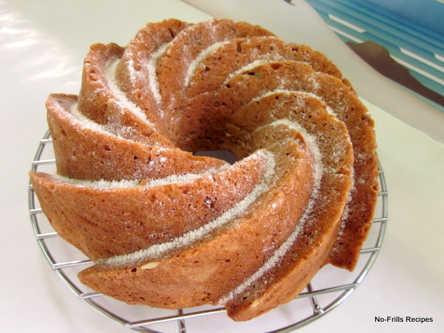 Walnut Oil Apple Cake