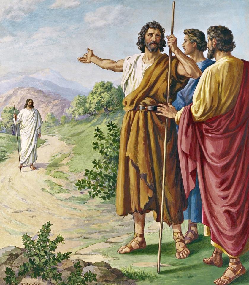 Risultati immagini per Giovanni 1,29-34