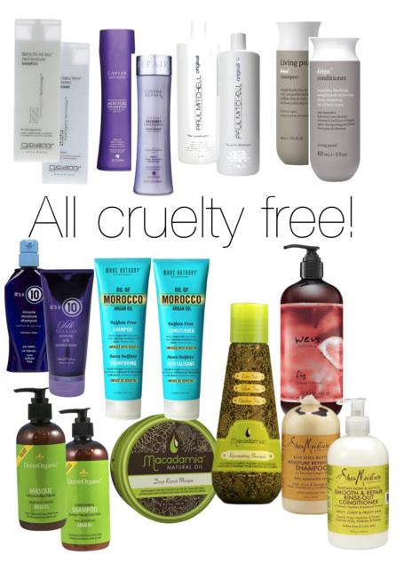 Cruelty Free Shampoo Hair Care Brands Beauty4free2u