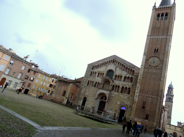 Parma, Italy: The Parma Cathedral and its Stunning Monochrome Frescoes