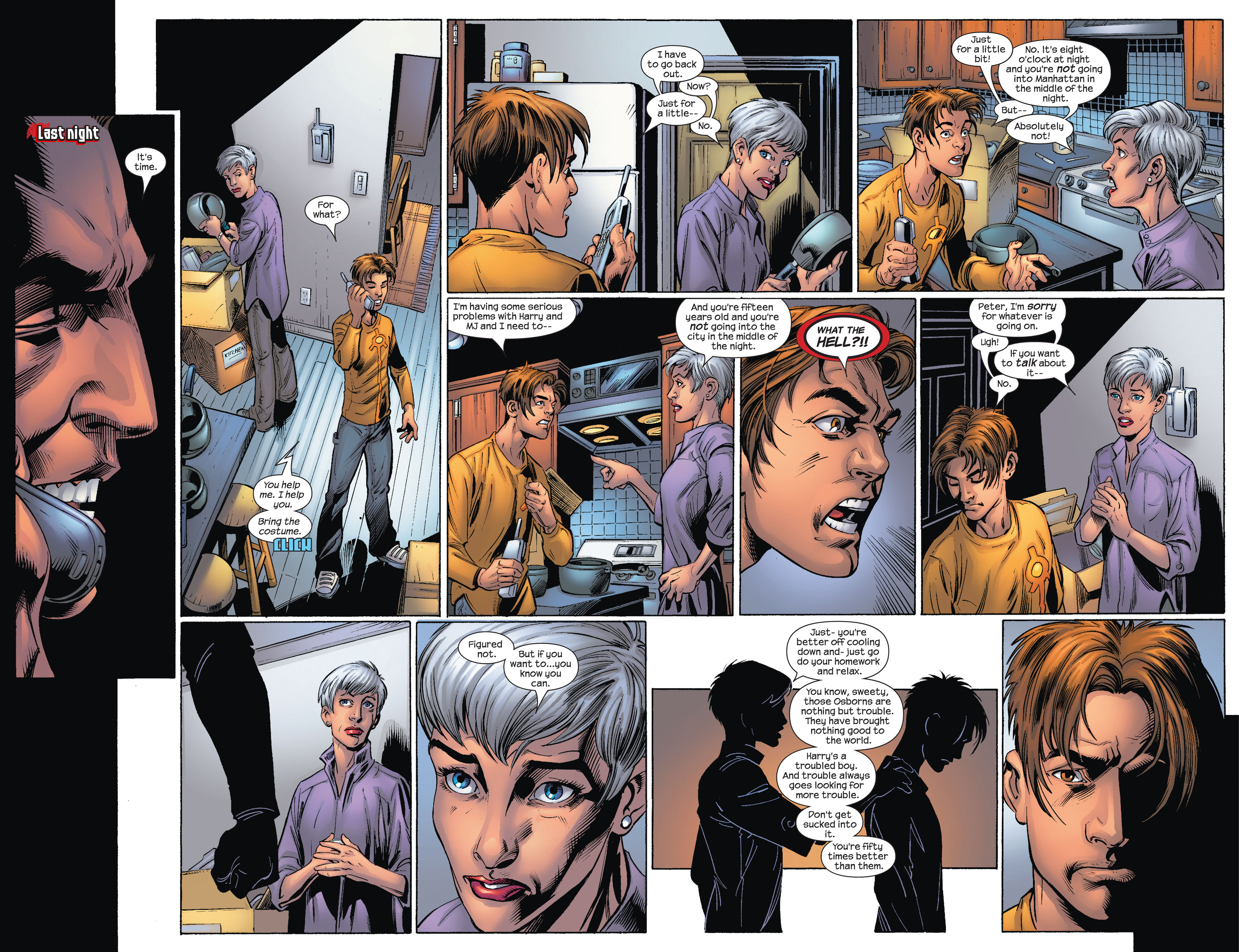 Read online Ultimate Spider-Man (2000) comic -  Issue #75 - 10