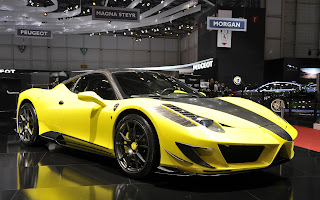 Ferrari 458 custom modified