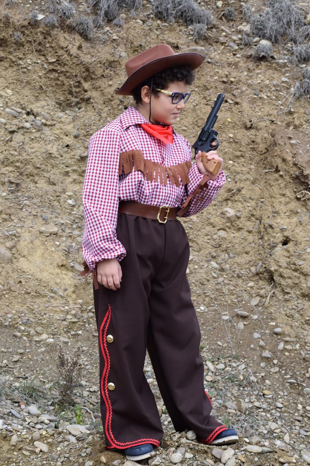 Carnevale costume cowboy