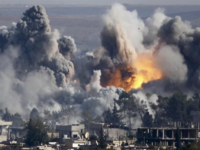 РАКЕТНИ УДАРИ СРЕЩУ СИРИЯ