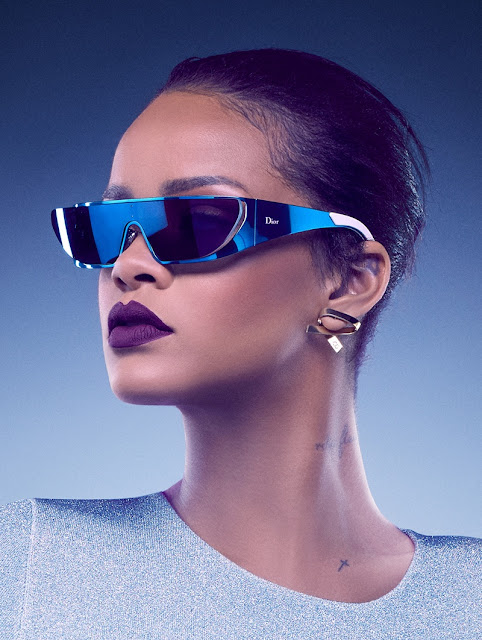 RIHANNA x DIOR SUNGLASSES COLLABORATION