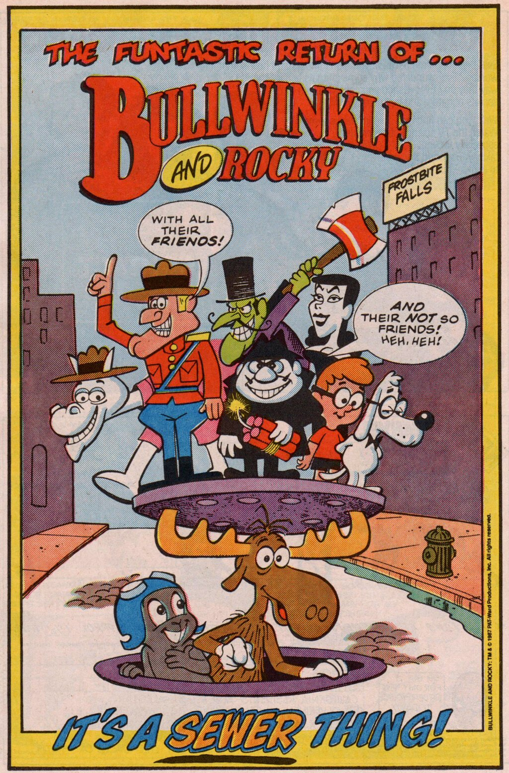 Read online ALF comic -  Issue #5 - 18