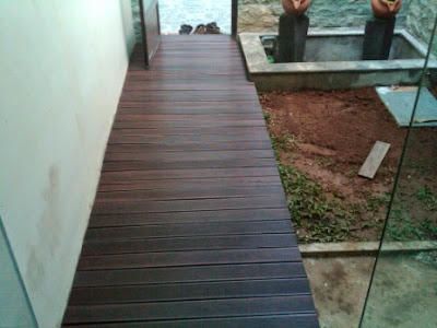 decking kayu ulin