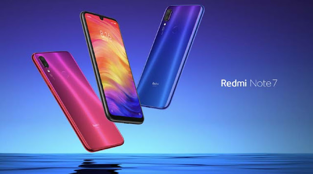 Xiaomi launched the Redmi Note 7 with a 48-megapixel camera and a cheap price of only € 128 87