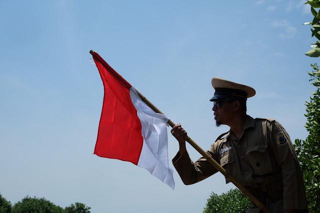 Saya Indonesia, bangga dan cinta akannya. Photo taken after Indonesia Independence Day Celebrated 2017