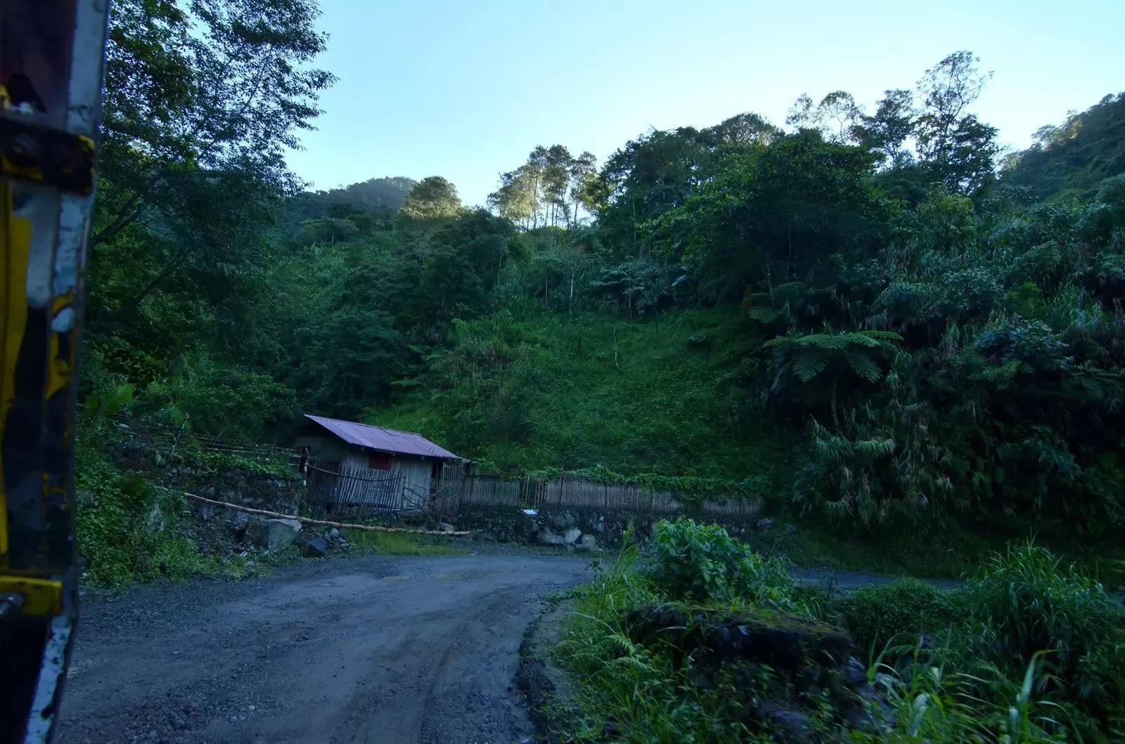 Bangaan Roads Ifugao Cordillera Administrative Region Philippines