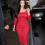 Kim Kardashian visits New York