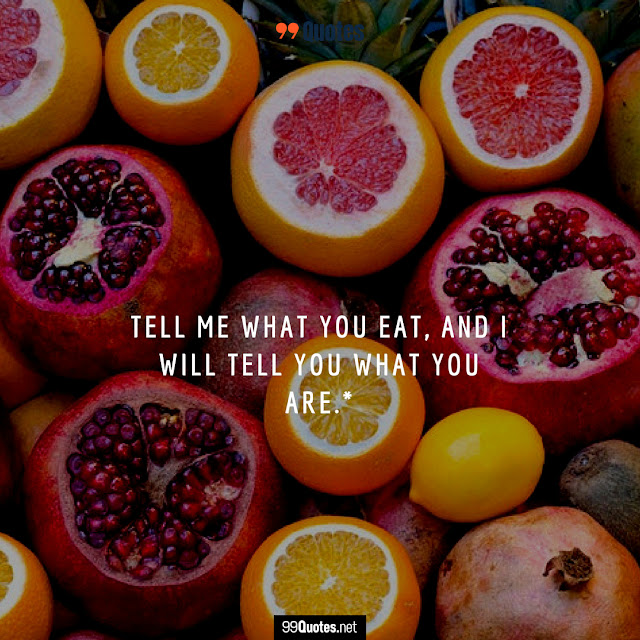 food and health quote