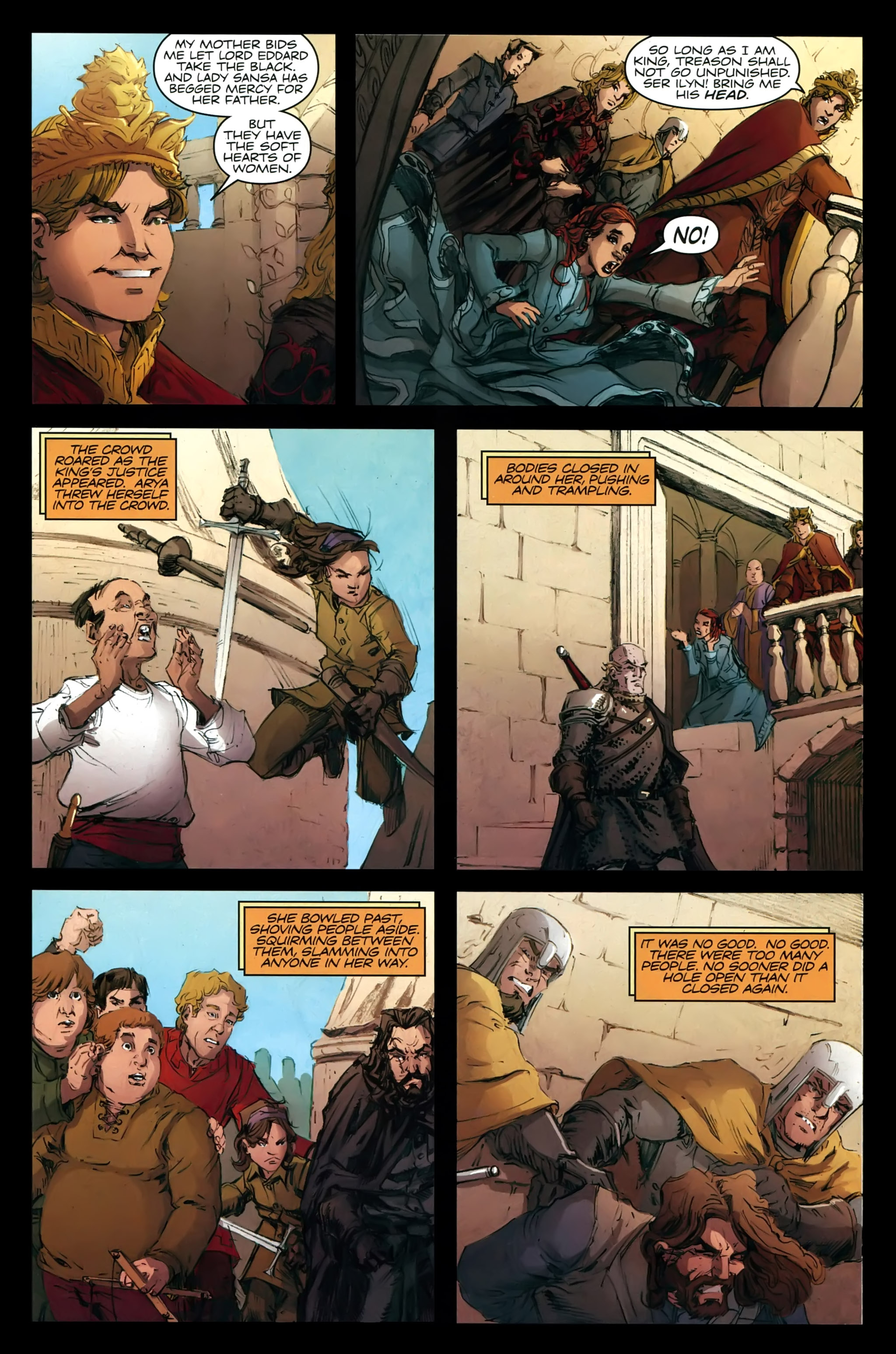 Read online A Game Of Thrones comic -  Issue #21 - 28