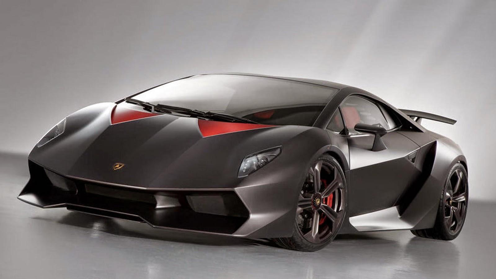 Foto Mobil Lamborghini Hitam Modifikasi Mobil