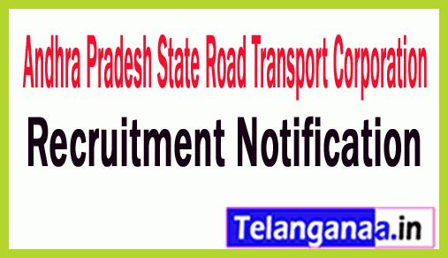Andhra Pradesh State Road Transport Corporation APSRTC Recruitment